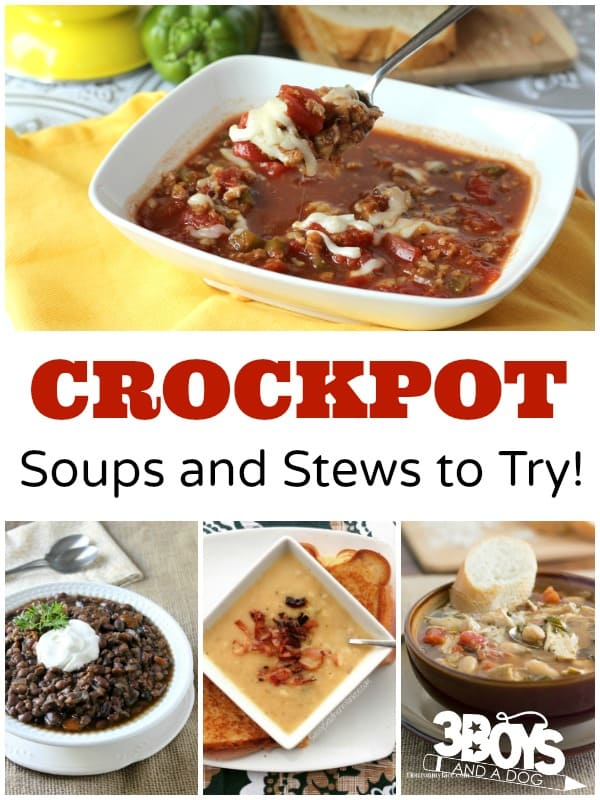 Crockpot Soups, Stews, and Recipes