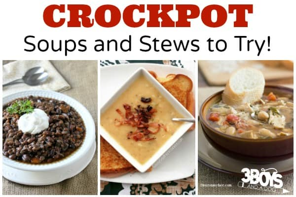 Crockpot Soups and Stews to Try