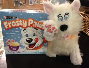 GIVEAWAY:  Frosty Paws Frozen Treats for Dogs #frostypaws