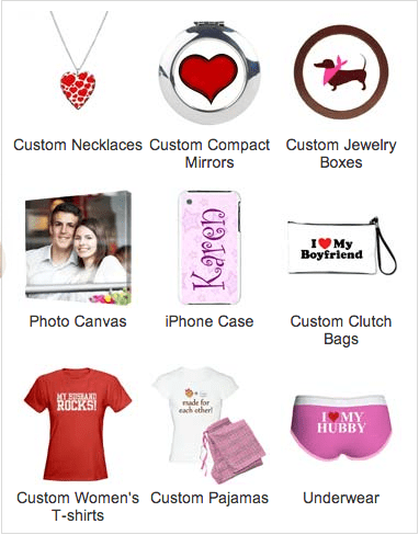 CafePress Gifts for Her