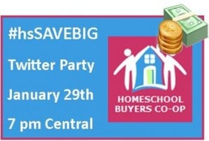 TWITTER PARTY: The Homeschool Buyers Coop