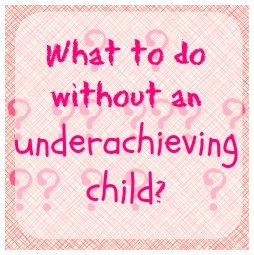 underachieving child