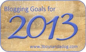 Blogging Basics: A Reflection of 2012 and Goals for 2013