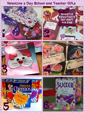 Valentine's Day School and Teacher Gifts
