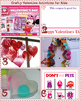 Crafty Valentine Activities for Kids