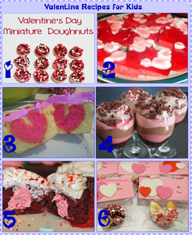 Valentine Recipes for Kids
