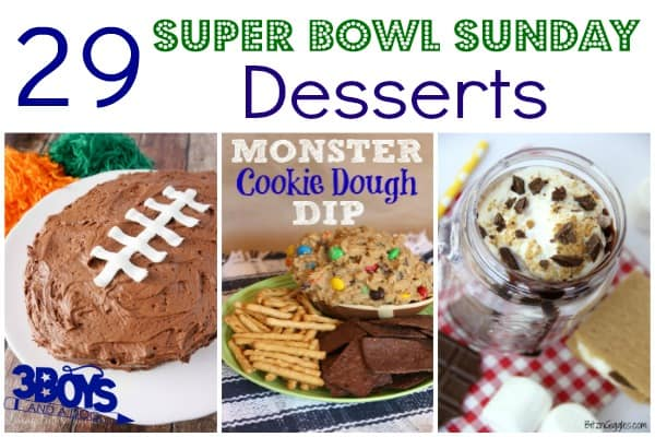 29 Super Bowl Sunday Desserts