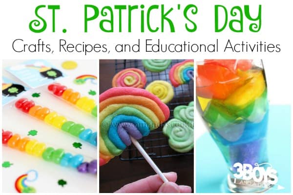 40 St. Patrick's Day Crafts, Recipes, and Educational Activities