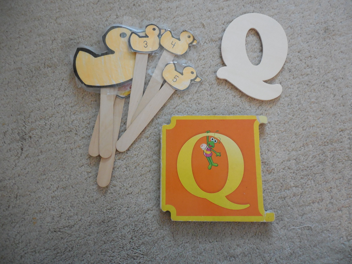 Q Is For Quack Preschool Alphabet Act...