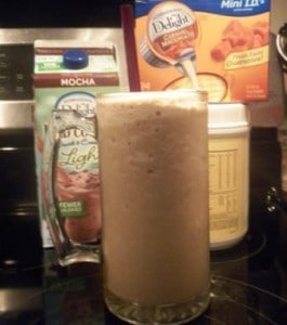 Creamy and yummy protein shake!