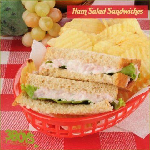 Ham Salad Sandwich filler or cracker topper recipe