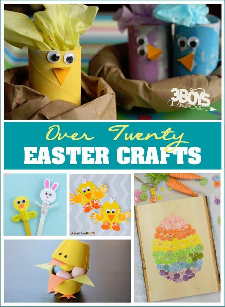 Over 20 Easter Crafts for Kids and Adults