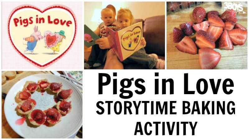 Pigs in Love Storytime Baking Activity