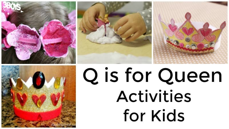 Queen Activities for Kids