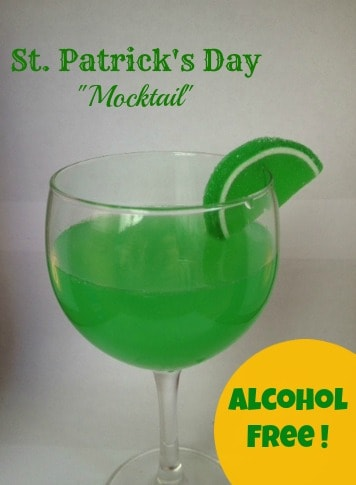 St Patricks Day Drink St. Patricks Day Mocktail Recipe