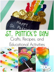 40 St. Patrick's Day Recipes, Crafts and Educational Projects