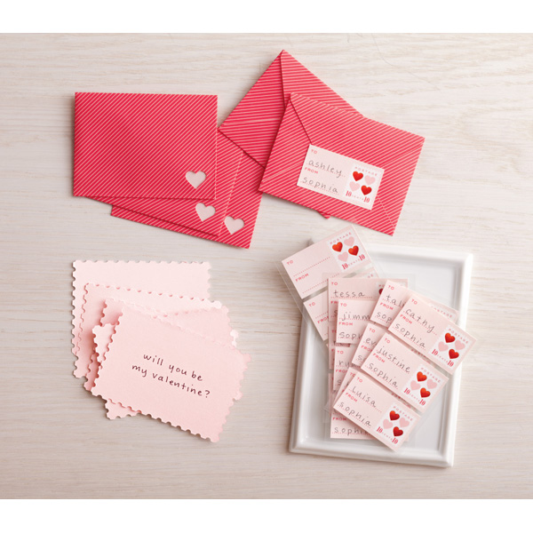 GIVEAWAY Easy and Fun Valentine Project 3 Boys and a Dog – Martha Stewart Valentines Day Cards
