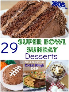 Super Bowl Sunday Desserts