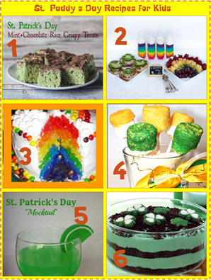 St Paddy's Day Recipes for Kids