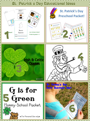 St Patrick's Day Educational Ideas