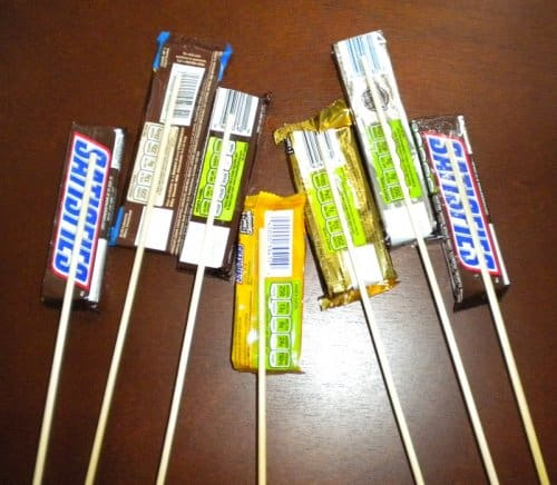 Craft Ideas With Snickers Candy Bars