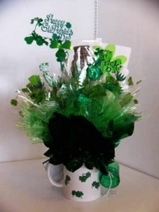 How to Make A St. Patrick's Day Candy Bouquet