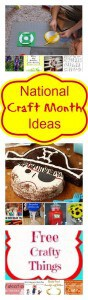 National Craft Month Pinterest Party