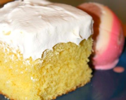 Poke Cake with Icing