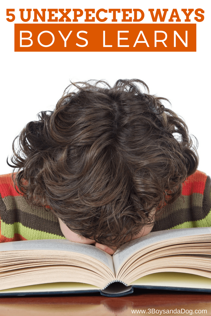 5 Unexpected Ways Boys Learn