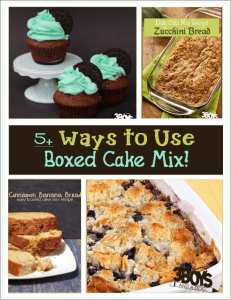 5 Ways to Make Cake Mix Better