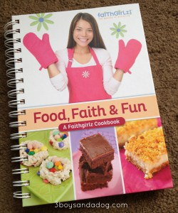 GIVEAWAY: Food, Faith & Fun – A Faithgirlz Cookbook