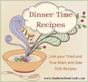 Dinner Time Recipes Weekly Link Up 8
