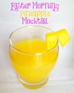 Easter Morning Pineapple Mocktail