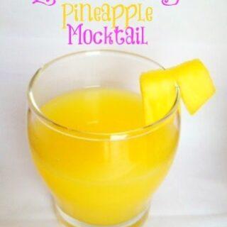 Easter Morning Pineapple Mocktail
