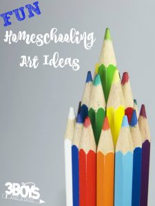 Fun Homeschooling Art Ideas