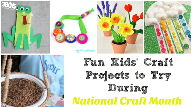 Fun Kids Craft Projects to Try