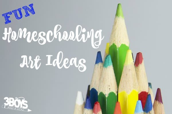 Homeschool Art Ideas