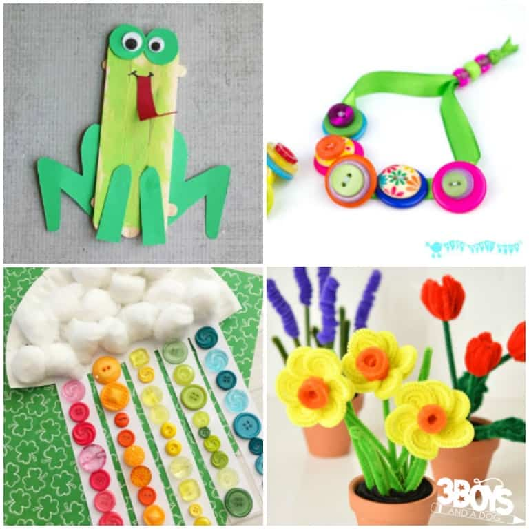 National Craft Month Projects for Kids