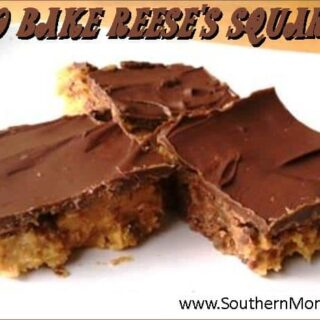 peanut butter and chocolate no bake squares