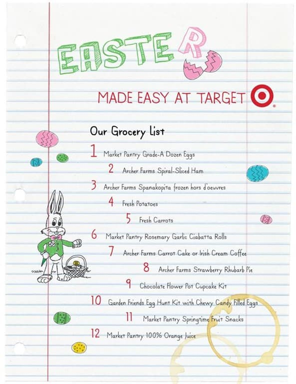 Giveaway easter shopping made easy at target 7500 gift card target has you covered this year to help you get those easter baskets filled decorate the house dress the children feed the family and even clean up negle Choice Image