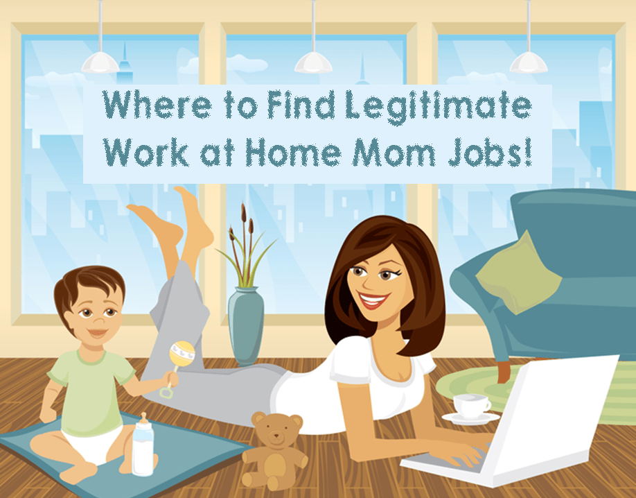 How to Find Legitimate Work at Home Mom Jobs! – 3 Boys and a Dog