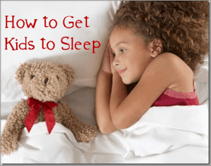 How to Get Your Children to Bed at Night!