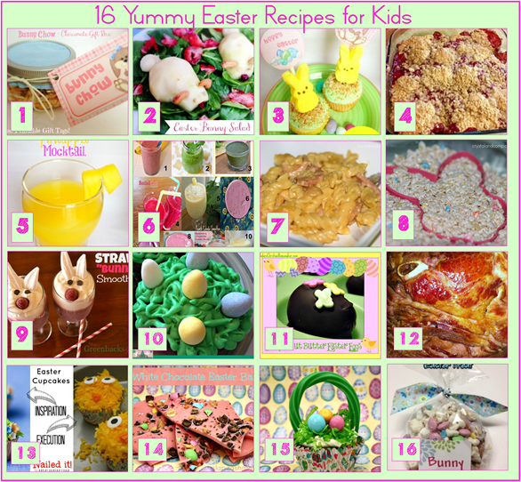 16 Yummy Easter Recipes for Kids