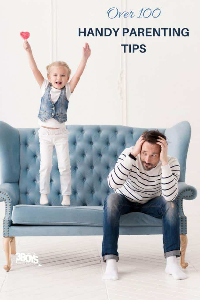 over 100 handy parenting tips