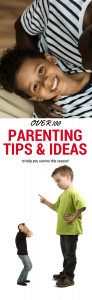 parenting tips and ideas to help you survive this season