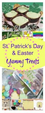 St Patrick and Easter Treats