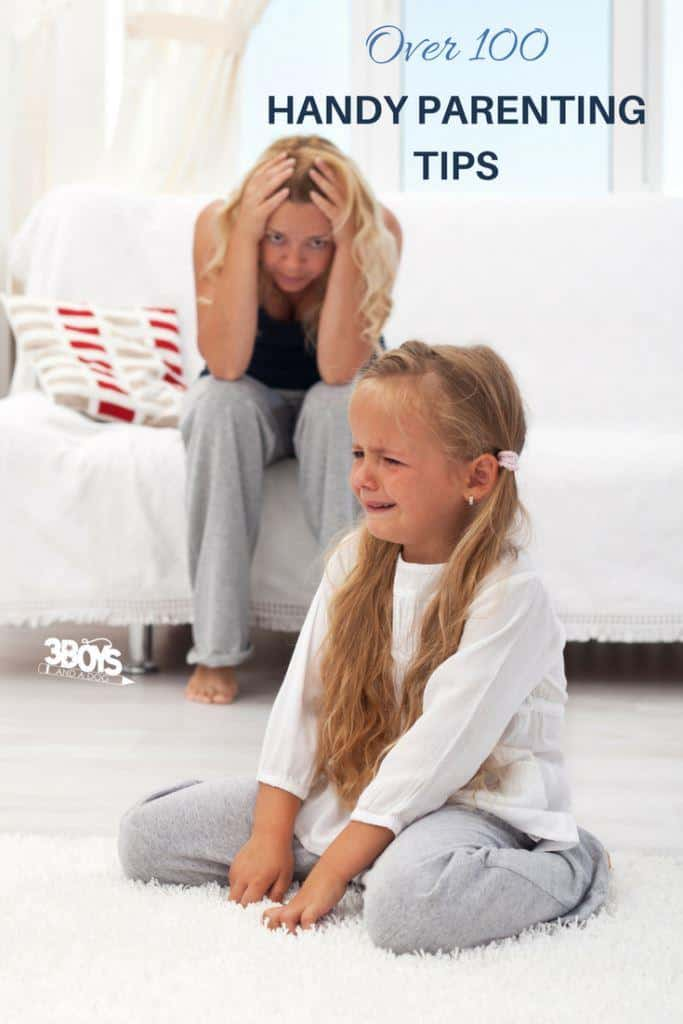 tips for handling the tough parts of parenting