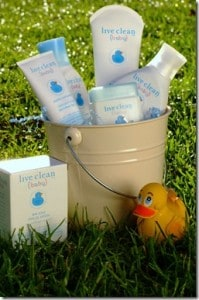 GIVEAWAY:  Live Clean Baby Collection! (Value $47.94)