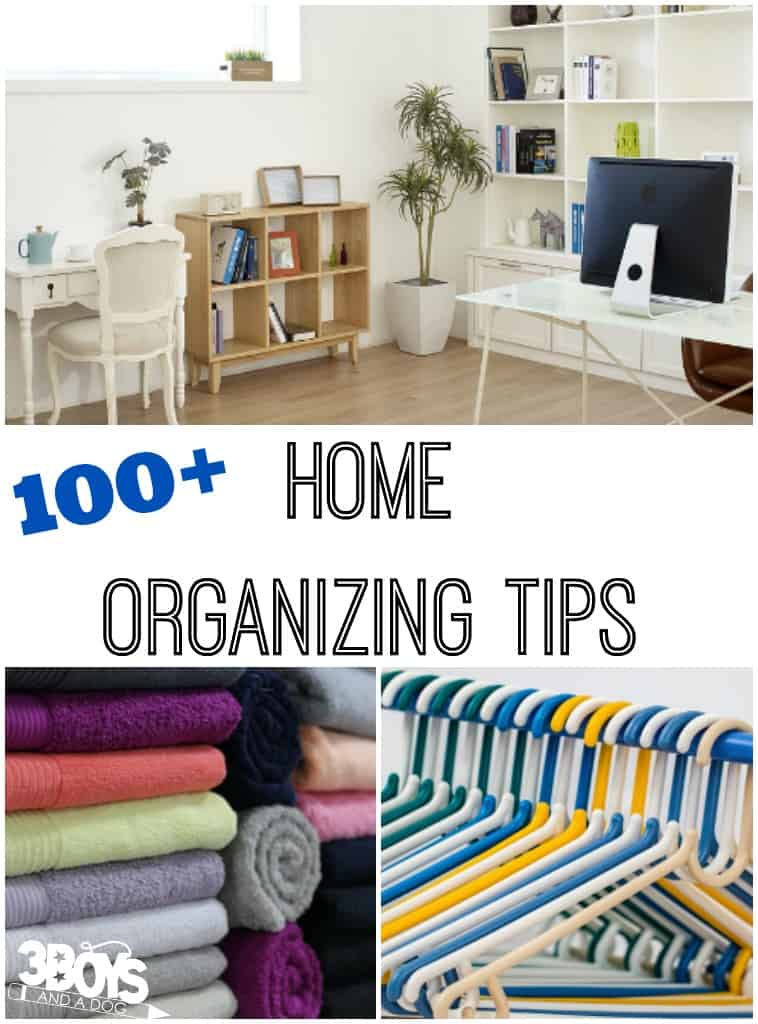 More Than 100 Home Organizing Tips