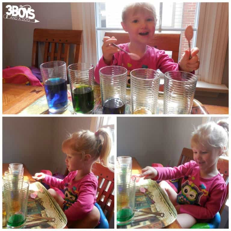 Music and Colors Activity for Preschool